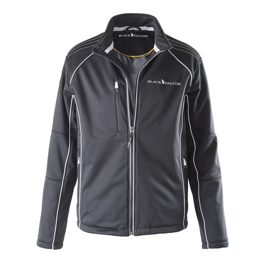 Black Falcon Softshell Jacke