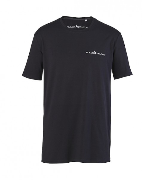 Black Falcon T-Shirt Schwarz