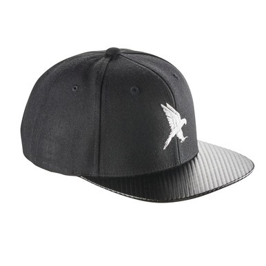 Black Falcon Carbon Snapback