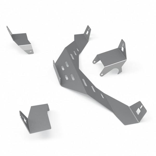 N1 Lautsprecher Halterungen Upgrade Kit (Silber)
