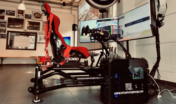 VRL PRO-X Full-Motion Motorsport-Simulator