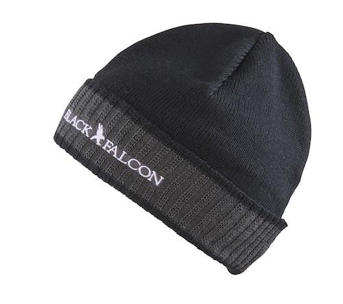 Black Falcon Beanie