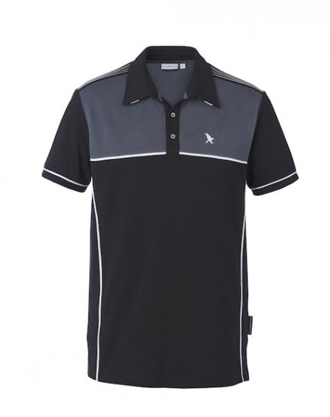 Black Falcon Polo Pitwalk Edition ( Schwarz / Grau )