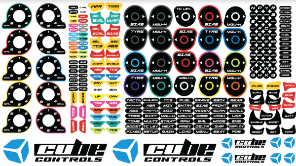 Cube Controls Stickerset 2.0