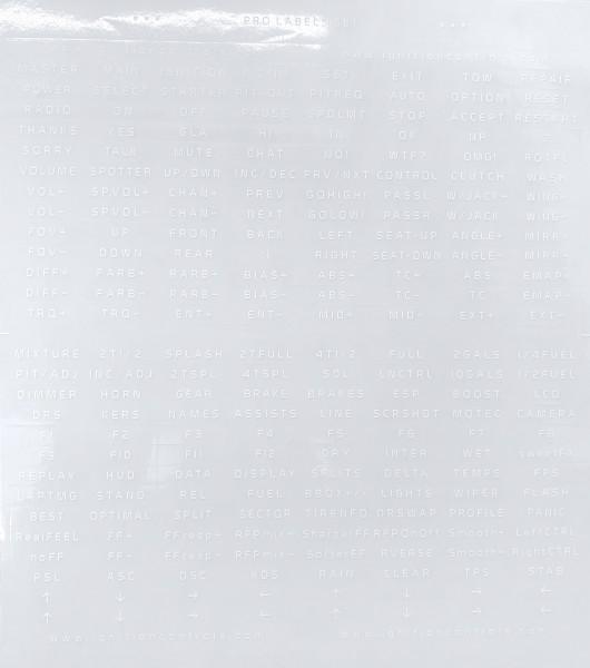 ignitiON Stickerset (Weiß)